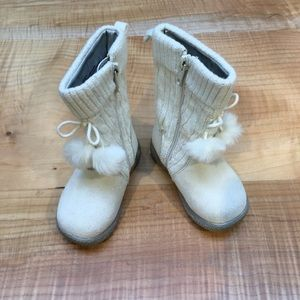Janie and jack size 6 girl boots